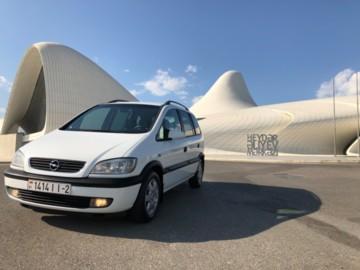 Opel Zafira A, 7 мест, 2001 г.