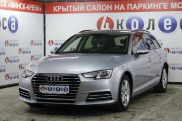 Audi A4 B9, 2017 г.