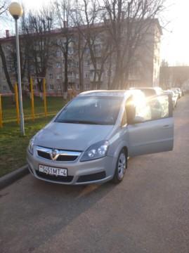 Opel Zafira B, 7 мест, 2006 г.