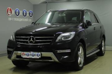 Mercedes-Benz M-Класс W166, 5 мест, 2012 г.