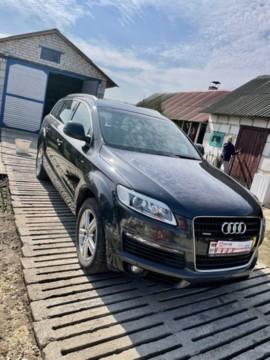 Audi Q7 4L, 5 мест, 2008 г.