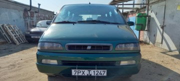 Fiat Ulysse I · Рестайлинг, 7 мест, 1999 г.