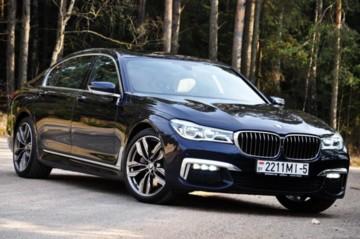 BMW 7 серия G12 (Long), 2016 г.