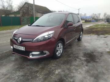 Renault Scenic III, 2016 г.