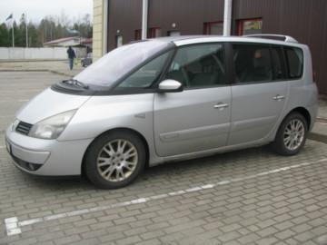 Renault Espace IV, 7 мест, 2005 г.
