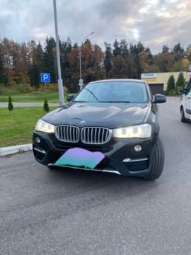 BMW X4 F26, 2016 г.