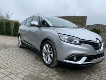 Renault Grand Scenic IV, 7 мест, 2017 г.