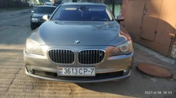 BMW 7 серия F01, F04, 2009 г.