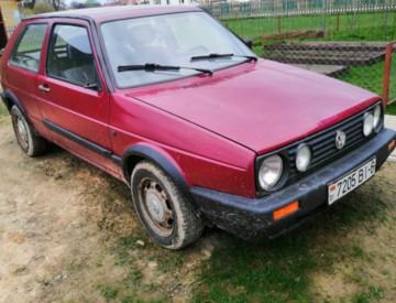 Volkswagen Golf II, 1988 г.