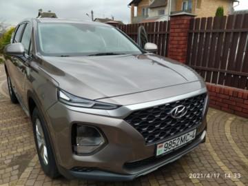 Hyundai Santa Fe TM, 2019г.