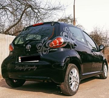 Toyota Aygo I (AB10) · Рестайлинг, 2011г.