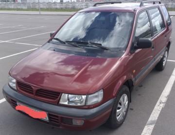 Mitsubishi Space Wagon Typ N30, N40, 7 мест, 1998 г.