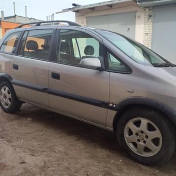 Opel Zafira A, 7 мест, 1999 г.