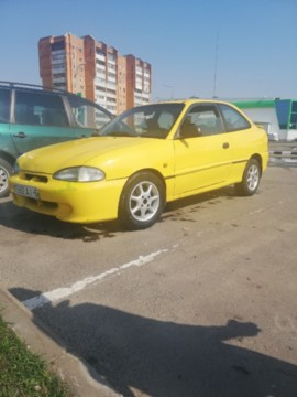Hyundai Accent X3, 1997г.
