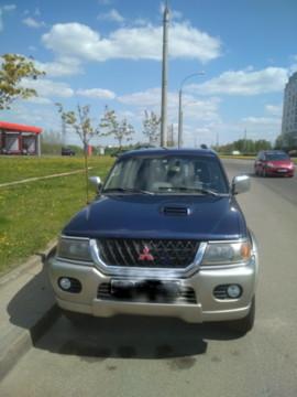 Mitsubishi Pajero Sport I, 2001 г.