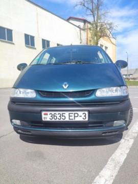Renault Espace III, 5 мест, 2002 г.