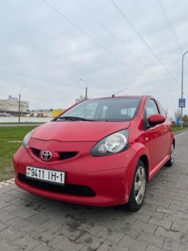 Toyota Aygo I (AB10), 2007г.