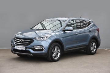 Hyundai Santa Fe DM · Рестайлинг, 2016г.