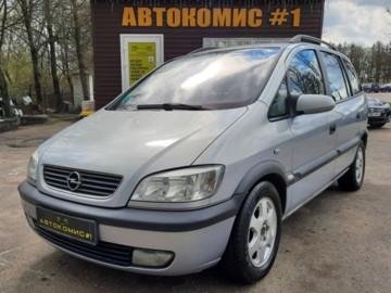Opel Zafira A, 7мест, 2002г.
