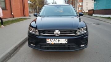 Volkswagen Tiguan II, 2020 г.
