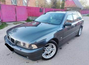 BMW 5 серия E39, 2002 г.
