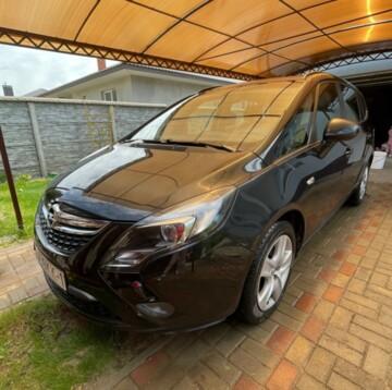 Opel Zafira C, 7мест, 2012г.