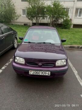 Nissan Micra II (K11), 1996г.