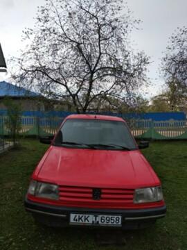 Peugeot 309 I · Рестайлинг, 1991г.