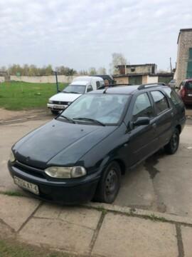 Fiat Palio I, 1997г.