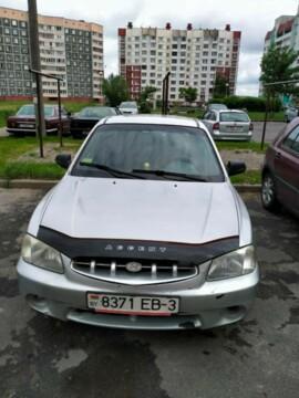 Hyundai Accent LC, 2001г.