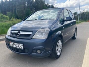 Opel Meriva I · Рестайлинг, 2007г.
