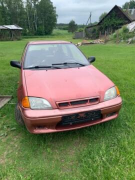 Suzuki Swift II · Рестайлинг, 1998г.