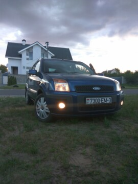 Ford Fusion I · Рестайлинг, 2008г.