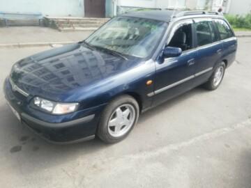 Mazda 626 GF, 1999г.