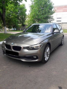 BMW 3 серия F30,F31 · Рестайлинг, 2016г.