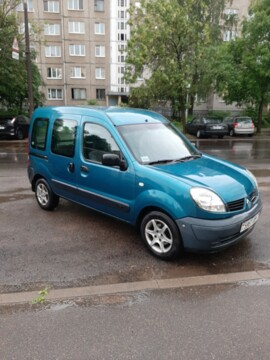 Renault Kangoo I · Рестайлинг, 2006г.