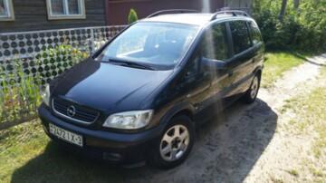 Opel Zafira A, 7мест, 2000г.