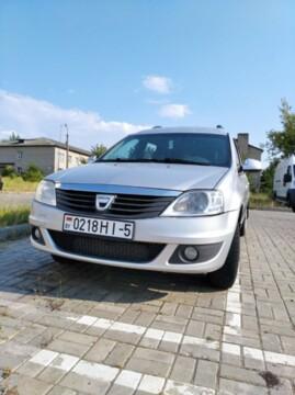 Dacia Logan I · Рестайлинг, 2010г.