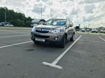 Opel Antara I · Рестайлинг, 2014г.
