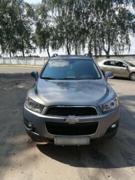 Chevrolet Captiva I · Рестайлинг, 2012г.