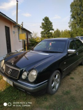Mercedes-Benz E-Класс W210, S210, 1999г.