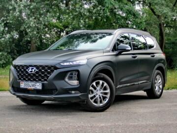 Hyundai Santa Fe TM, 2018г.