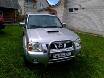 Nissan Navara D22, 2003г.