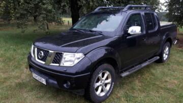 Nissan Navara D40, 2007г.