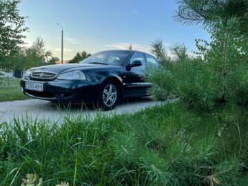 Kia Clarus I · Рестайлинг, 1999г.