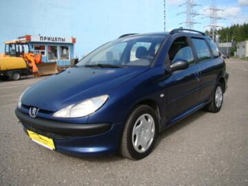 Peugeot 206 I, 2002г.