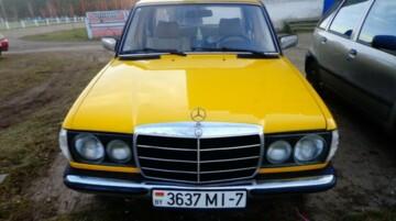 Mercedes-Benz E-Класс W123, 1980г.