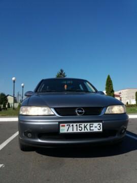 Opel Vectra B · Рестайлинг, 2001г.