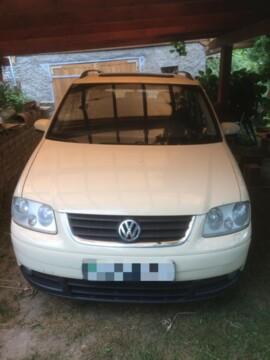 Volkswagen Touran I, 7мест, 2006г.